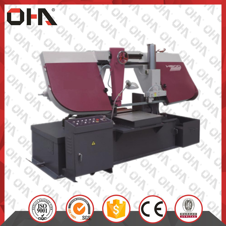 H-Series Double Column Band Sawing Machine