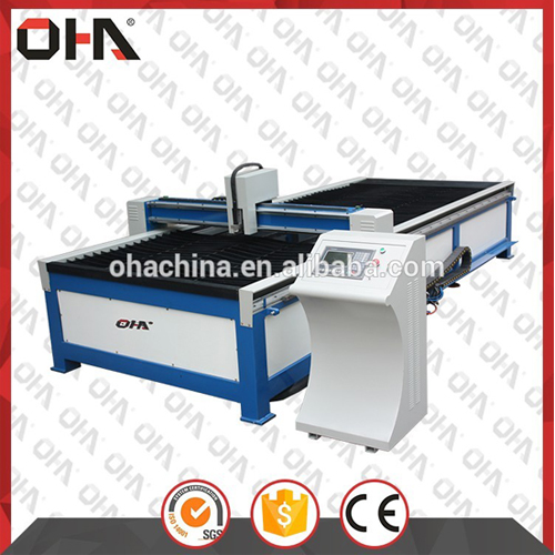 Oha-1535 Numerical Control Bench Cutting Plasma Mesin