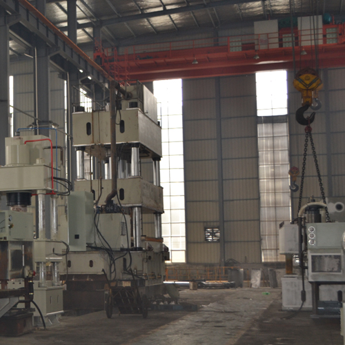 Double-Action Hydraulic Drawing Press