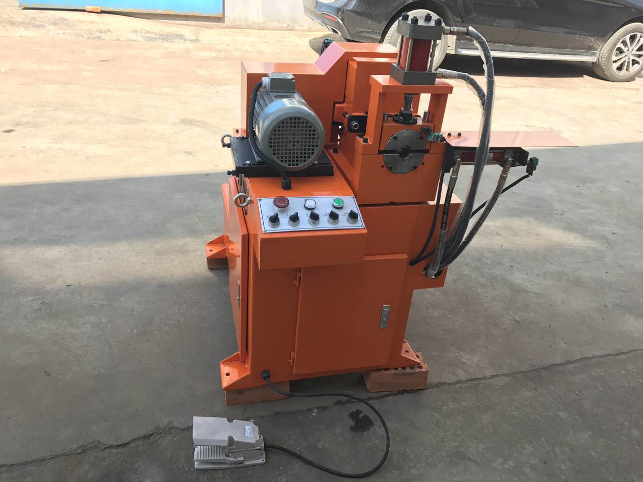 Single Head Chamfering Machine